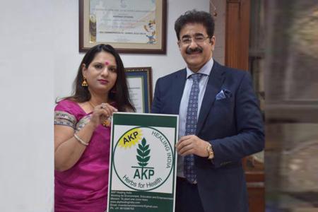 Sandeep Marwah Patron to AKP Social Organization