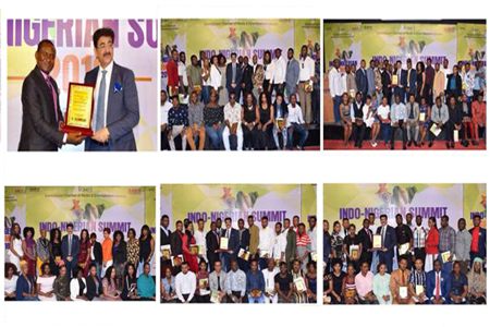 Sandeep Marwah Titled Global Cultural Minister by Africans