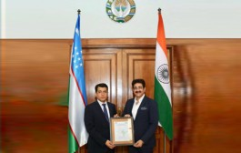 Sandeep Marwah Nominated Chair For Uzbekistan Association