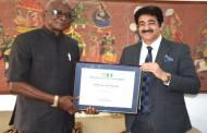 H.E. Major General Chris Sunday Eze Patron to Indo Nigerian Film Association