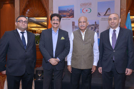 Sandeep Marwah Special Guest On The National Day of Azerbaijan