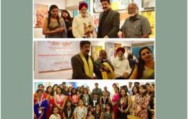 Sandeep Marwah Inaugurated Painting Exhibition at AIFACS