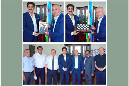 Sandeep Marwah Invited by the Ministry of Culture of Uzbekistan
