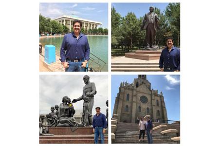 NFTC Promotes Indian Tourism At Uzbekistan