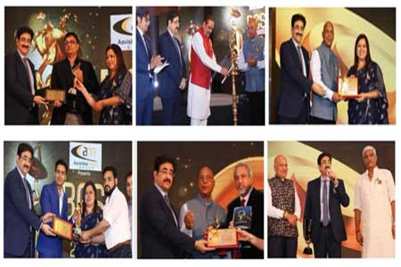 Sandeep Marwah Presented 9th Ratna Awards