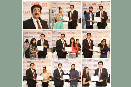 Sandeep Marwah Addressed The Students of Fashion