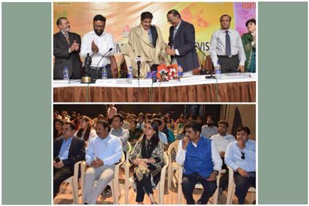 Sandeep Marwah Felicitated For Dadasaheb Phalke Award