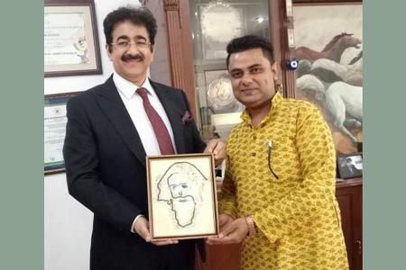 Sandeep Marwah Patron to Assem Asha Social Organization
