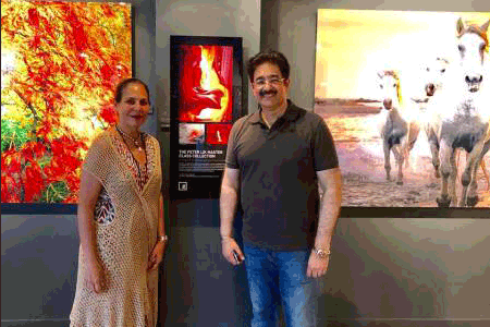 Sandeep Marwah Visited Art Gallery in Miami
