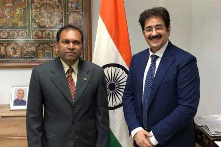 Sandeep Marwah Supported by Indian Consulate at Munich