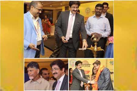 Sandeep Marwah Invited To Start Media City In Andhra Pradesh
