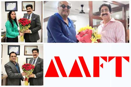 Boney Kapoor Congratulated Marwah on 25th Year of AAFT