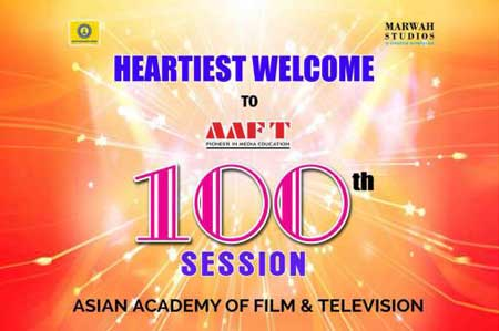 AAFT Going to Create New Record With 100th Batch