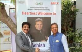 Asish Saraf Patron to Indo Bahamas Cultural Forum