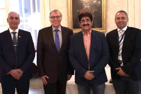 Sandeep Marwah Met Secretary of The State Bavaria