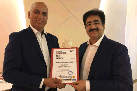 Sandeep Marwah On The Board of Russian Film Festival