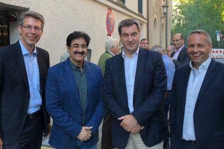 Sandeep Marwah Met Minister President of Bavaria