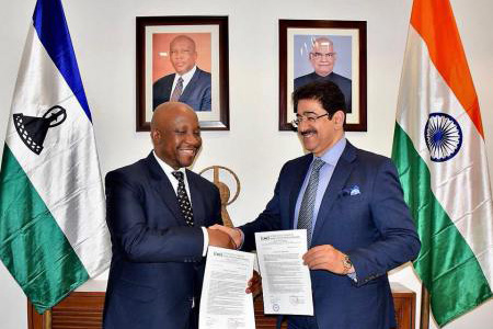 ICMEI Signed MOU With Kingdom of Lesotho