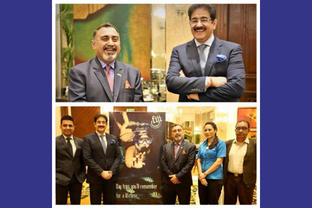 Sandeep Marwah Special Guest at Fiji Road Show on Tourism
