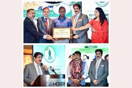 Sandeep Marwah Honored As Global Green Ambassador