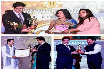 Sandeep Marwah Appreciated by Garnet And Gold