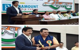 Sandeep Marwah Honored For His Gandhi Ideology