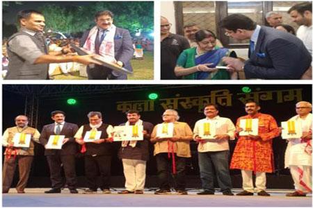 Sandeep Marwah As Guest of Honor at Sanskar Bharti Event