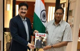 Sandeep Marwah Invited by Indian High Commission in Cyprus