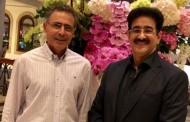 Sandeep Marwah Met Ambassador During Cyprus Film Summit
