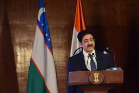 Sandeep Marwah Invited to Inaugurate Uzbekistan Culture Days In India