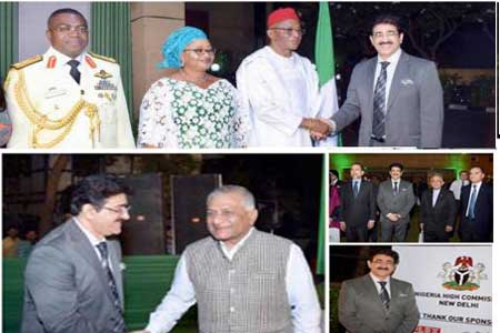 Sandeep Marwah Special Guest On National Day of Nigeria