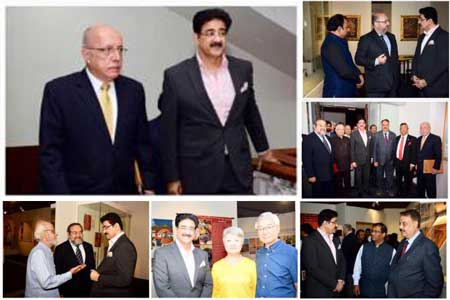 Sandeep Marwah Part of Peru Exhibition at National Museum