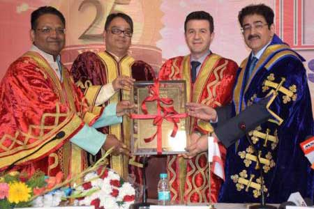 Doctorate For Sandeep Marwah For His Contribution to Industry