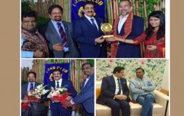 Sandeep Marwah Honored by Rotary Club