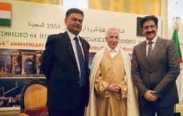 Sandeep Marwah Special Guest at Algerian National Day