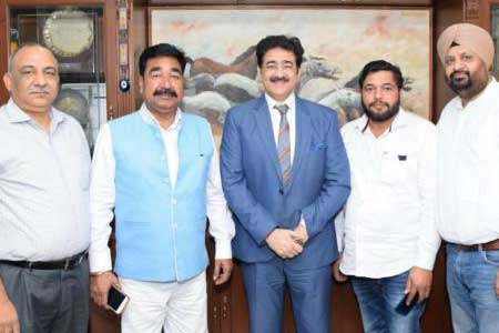 Sandeep Marwah Nominated Patron to National Footvolley Federation