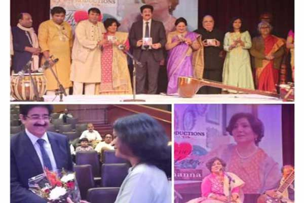 Sandeep Marwah Released The Music Album of J Khanna