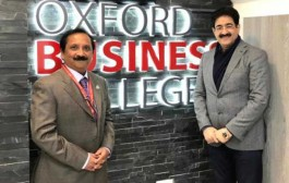 Sandeep Marwah Invited by Oxford Business College at Oxford