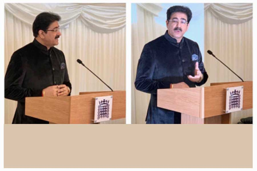 Sandeep Marwah Addressed at Churchill Hall of House of Common