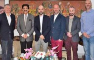 British Creative Team Visited AAFT Campus