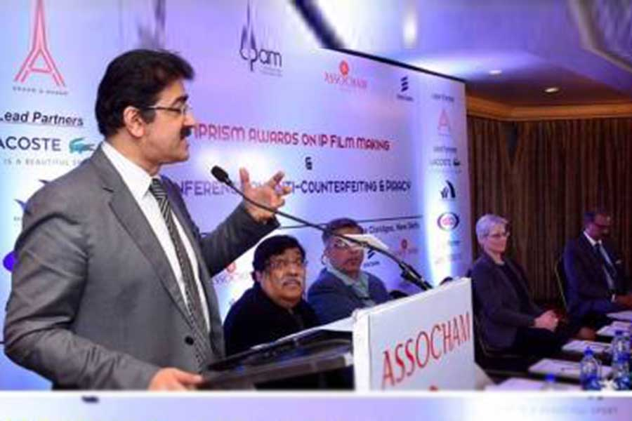 Sandeep Marwah Framed And Motivated The Footvolley Federation