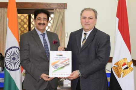 ICMEI Delegation Visited Embassy of Egypt