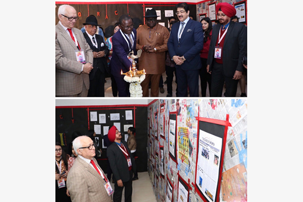 Exhibition of News Papers Inaugurated on the Second Day of 7th GFJN