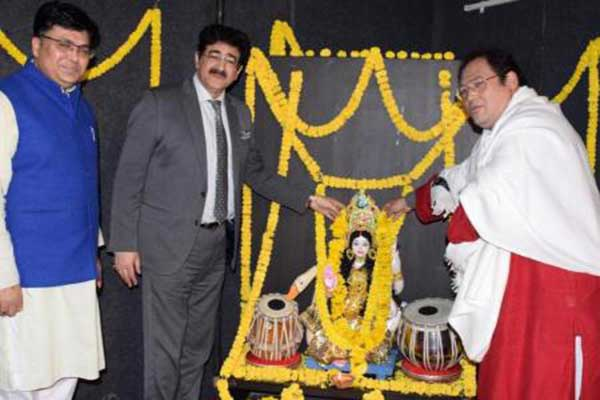 Saraswati Puja at AAFT School of Performing Arts