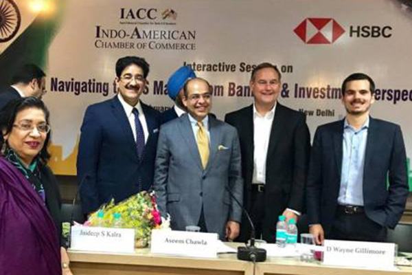 Sandeep Marwah Special Guest At HCBC Interaction