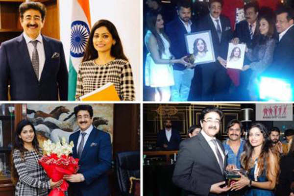 Sandeep Marwah Wished A Bright Year at Calendar Launch