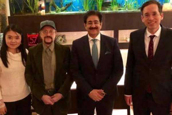 Sandeep Marwah Nominated Vice President of Jury in Hungary