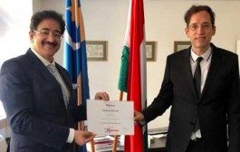 Sandeep Marwah Honored Once Again in Hungary