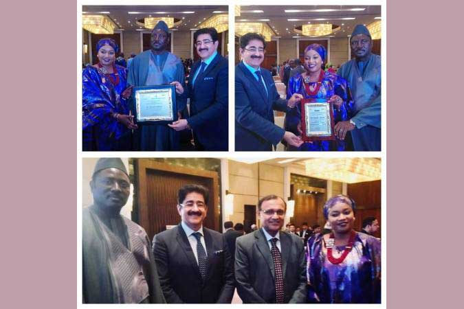 Sandeep Marwah Special Invitee at Gambia National Day