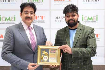 Sandeep Marwah Honored for His Contribution to Boxing